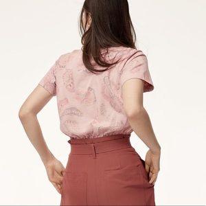 2 aritzia wilfred free piaf t shirts